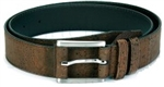 Slim Cork Belt Brown