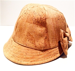 Cork Ladies Vintage Hat Natural