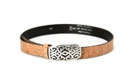 Cork Natural Belt Celtic buckle