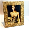 Cork Frame Large Fennel and Gold
