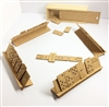 Cork Domino Set