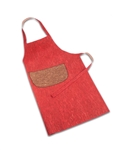 Cork Apron Red and Brown