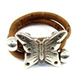 Cork Ring Large Butterfly