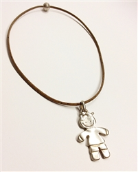 Cotk Necklace Boy Pendant