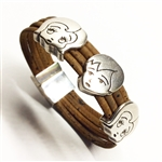 Cork Bracelet with Children