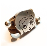 Cork Girl Ring Brown