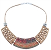 Cork Necklace Aztec 3 piece