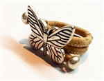 Cork Ring Butterfly C Natural