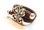 Cork Ring Four heart Clover K