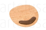 Mouse Pad Round Natural