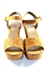 Bamboo Cork Ladies Wedges
