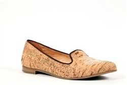 Cork Seashell Loafers  - natural