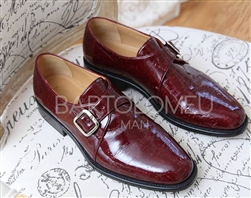 Bartolomeu Oxford Shoe Burgundy