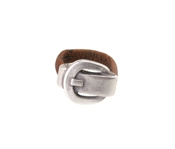 Brown Cork Ring w/ buckle