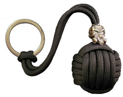 Apocalypse Stainless Steel Monkey Fist Keychain