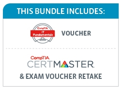 Save 39% on the CompTIA IT Fundamentals Deluxe Bundle