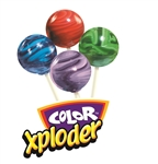 Color Xploder lollipop fundraiser