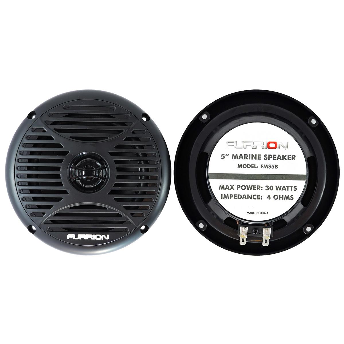 Furrion FMS3B 3-inch Surface Marine Speaker Black