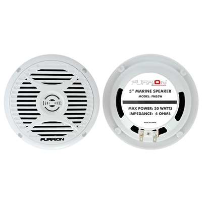 "Furrion 5"" Marine Speaker FMS5W - WHITE"