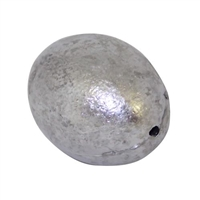 Egg Sinkers Lead  Weight: 1 1/2 oz, 1/2 oz, 1/4 oz