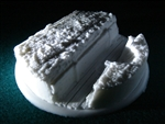 Trenchworks Resin Scenic Miniatures Base 120mm
