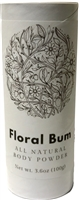 Floral Bum Body Powder