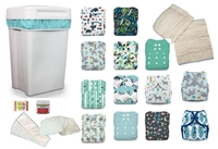 Cloth Diaper Home Wash Bundle - Mixed Styles (wash every 3 days)