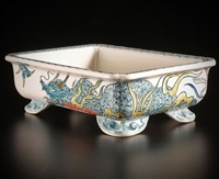 Japanese Bonsai Pot  Artist; Yuki Syoseki (Collectors Addition)