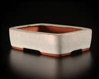 Youzan, Tokoname bonsai pot - Artist ; Shimizu Masakasu New Old Stock