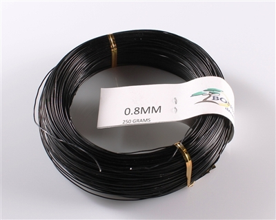 0.8 MM ANODIZED BLACK BROWN ALUMINIUM WIRE