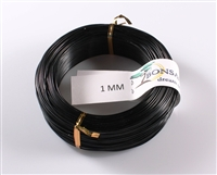 1 MM ANODIZED BLACK BROWN ALUMINIUM WIRE
