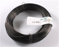 1.2 MM ANODIZED BLACK BROWN ALUMINIUM WIRE