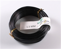 1.5 MM ANODIZED BLACK BROWN ALUMINIUM WIRE