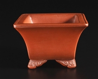 Yixing bonsai pots,Master-line unglazed shohin bonsai pots