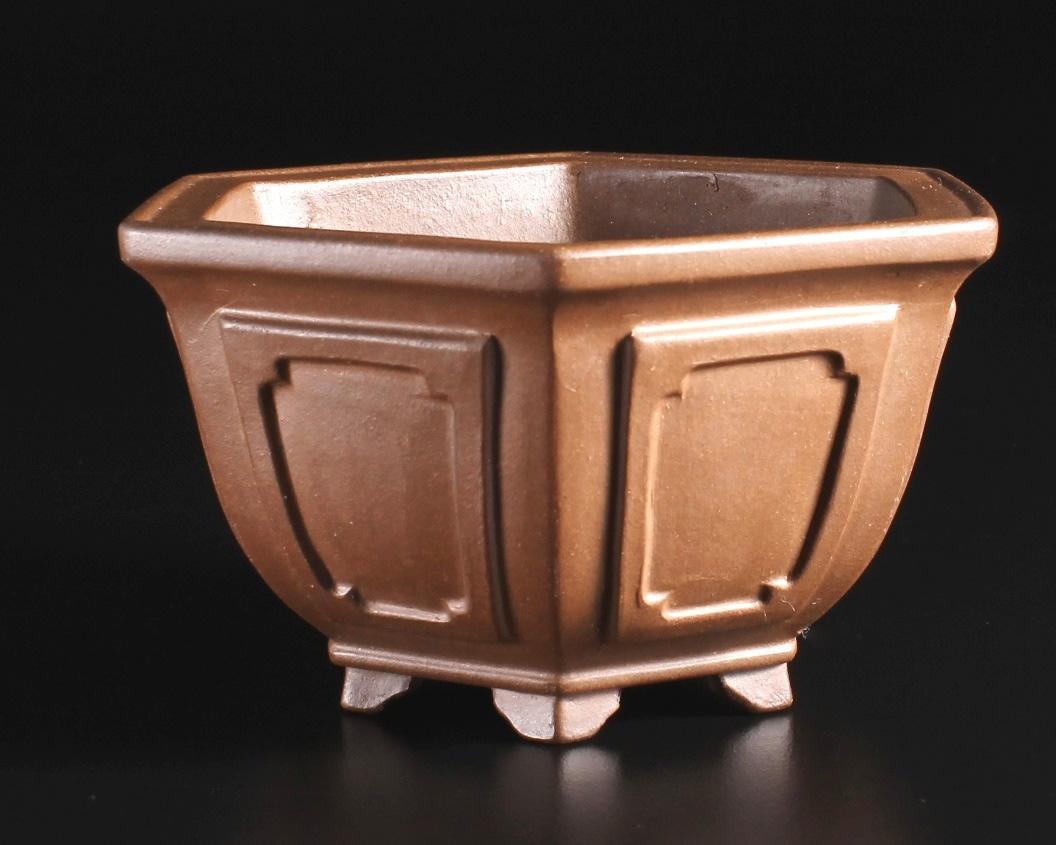 Yixing Bonsai Pots Master Line Unglazed Shohin Bonsai Pots