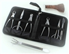 MASTER GRADE STAINLESS STEEL 8 PIECE TOOL KIT