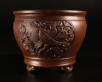 Yixing bonsai pot,Kenji Miyata collection