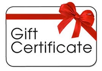"""Gift Certificate"""