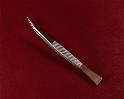 "Kaneshin, Bonsai stainless tweezers with blade ""MASAKUNI"