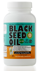 Black Seed Cumin Oil Softgels 90 caps 500 mg
