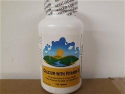 Calcium with Vitamin D 120 tabs