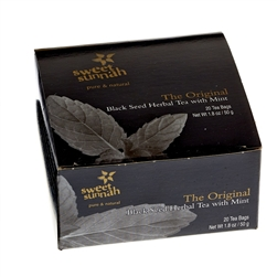 The Original Black Seed Herbal Tea w/ Mint - 20 Bags