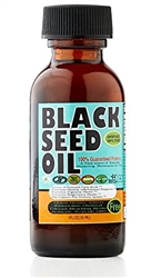 Pure Cold Pressed Black Seed Oil 1 oz glass bottle