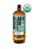 USDA ORGANIC Pure Cold Pressed Black Seed Oil - 16 oz (Glass)
