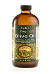 Pure Cold Pressed Extra Virgin Olive Oil 16 oz. GLASS