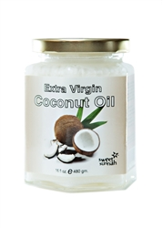 Pure Cold Pressed Extra Virgin Coconut Oil - 16 oz.
