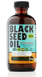 Pure Cold Pressed Black Seed Oil 4 oz EGYPTIAN