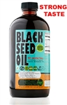 Cold Pressed Black Seed Oil (Strong Taste) - 16 oz (Glass)