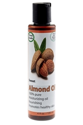 Natural Sweet Almond Oil 4 oz.