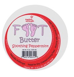 Foot Butter Soothing Peppermint - 4 oz